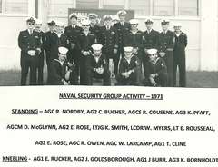 Naval Security Group Activity 1971