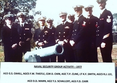 Naval Security Group Activity 1977
