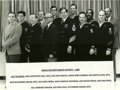 Naval Security Group Activity 1986