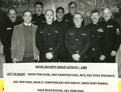 Naval Security Group Activity 1980