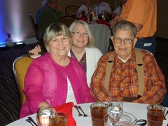 Martie Locke, Marilyn Roberts & Morry Summey